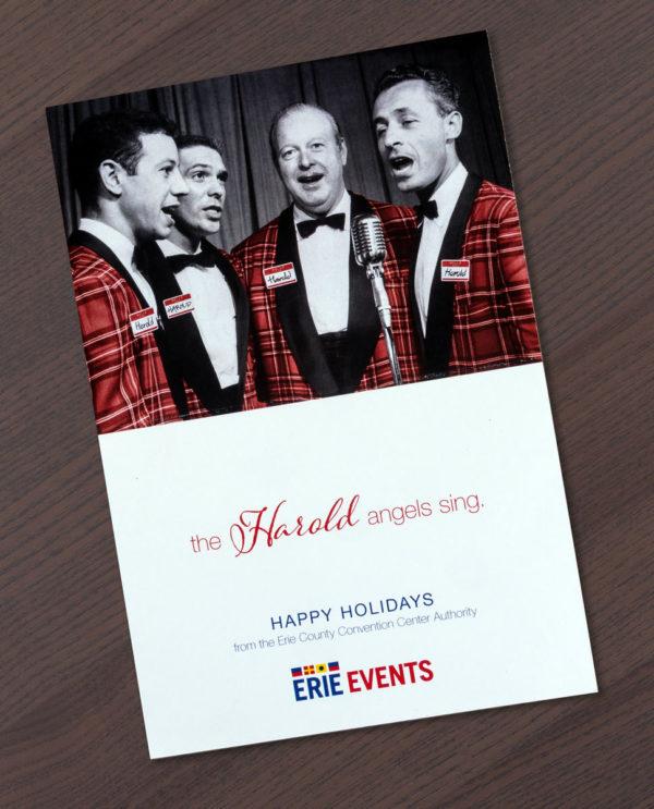 Erie Events Card Hark Inside