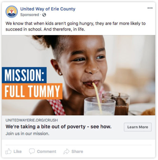 United-Way-Brand-Campaign-Facebook-Ad-Tummy