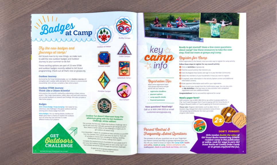 GSWPA Smore Magazine Badges