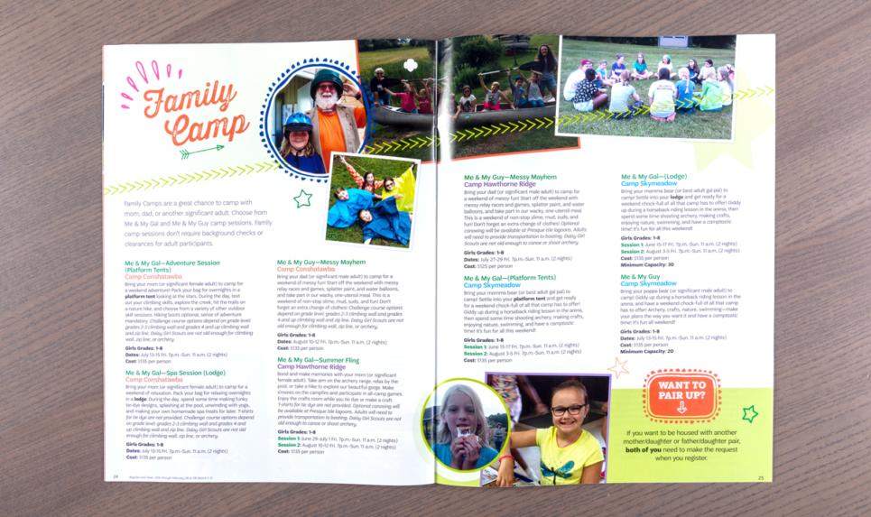 GSWPA Smore Magazine family camp